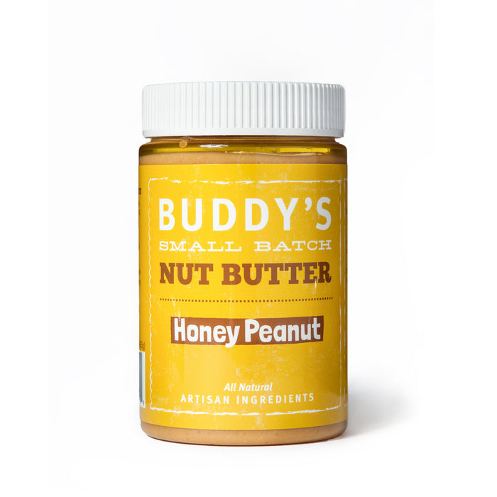Buddy's Honey Peanut Butter (3 Pack of Jars)