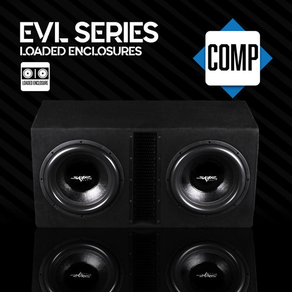Skar Audio EVL Series Loaded Subwoofer Enclosures