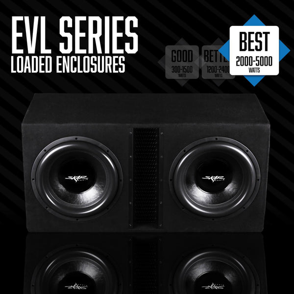 Skar Audio EVL Series - Loaded Subwoofer Enclosures Category Image