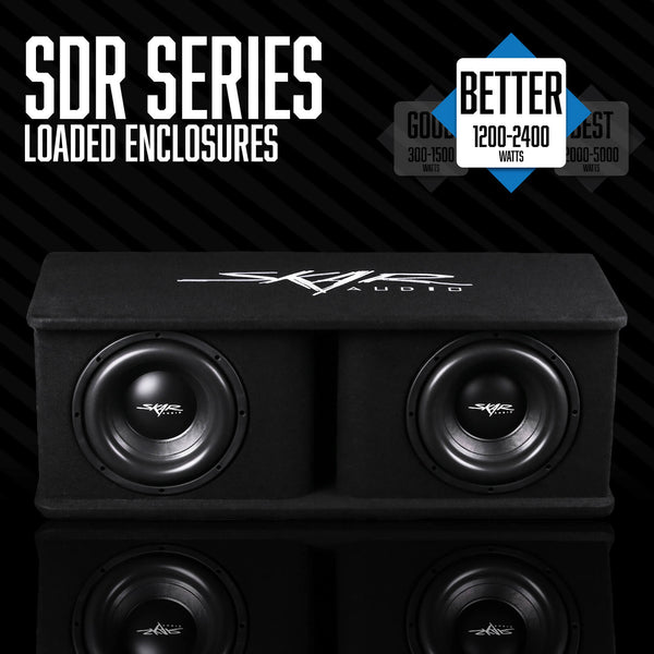 Skar Audio SDR Series - Loaded Subwoofer Enclosures Category Image