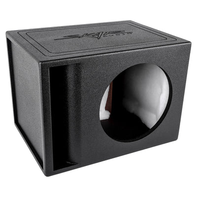 "Skar Audio AR1X12V - Single 12"" Armor Coated Ported Subwoofer Enclosure with Kerf Port - Main Image"