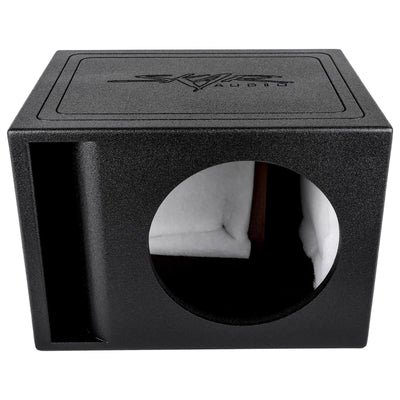 "Skar Audio AR1X12V - Single 12"" Armor Coated Ported Subwoofer Enclosure with Kerf Port - Alternate Main Image"