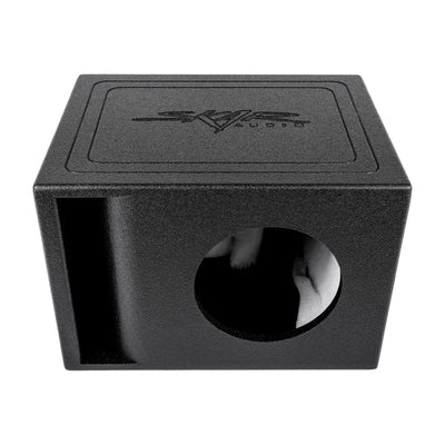 "Skar Audio AR1X8V - Single 8"" Armor Coated Ported Subwoofer Enclosure with Kerf Port - Alternate Main Image"