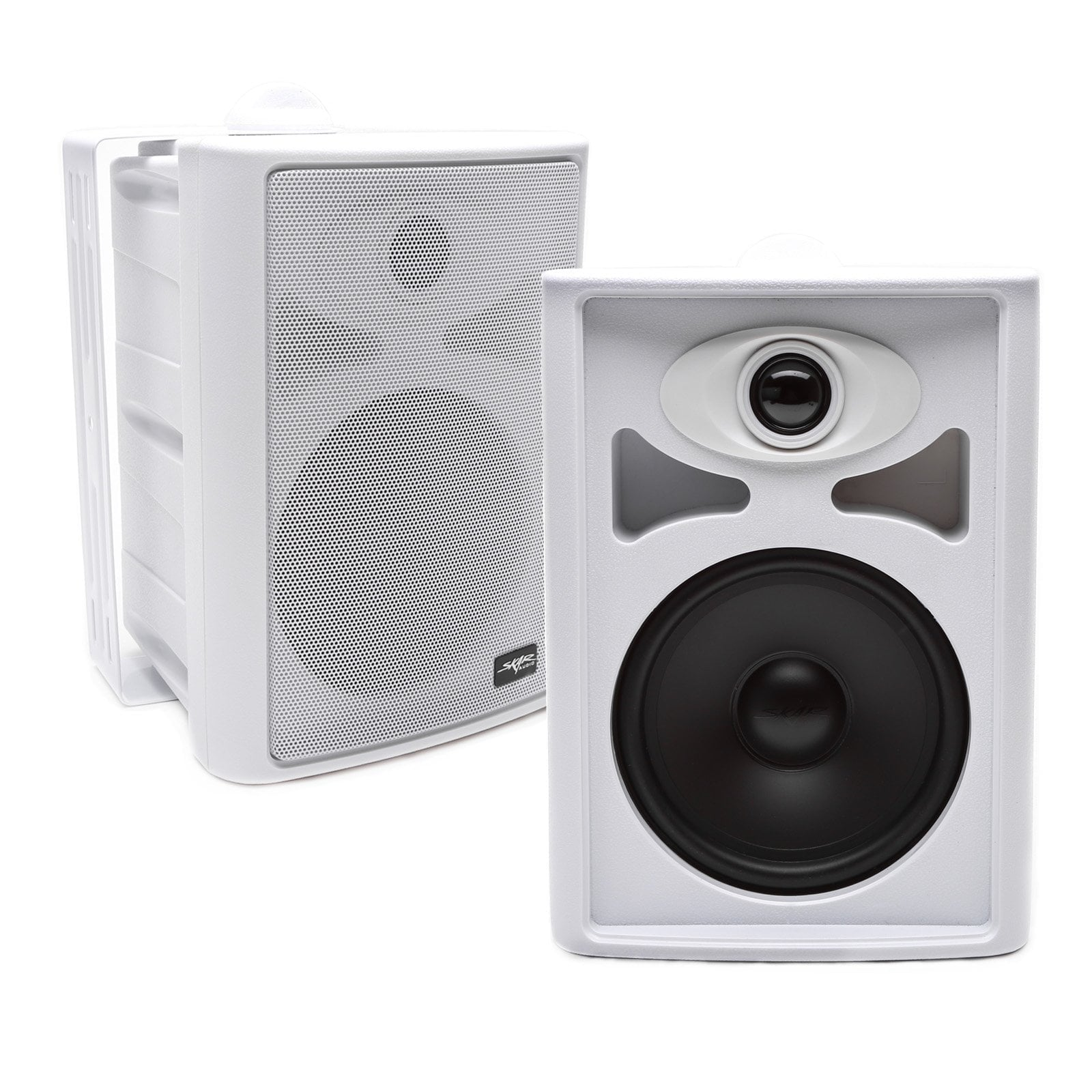 "Skar Audio AWX65PW 6.5"" 2-Way White Indoor/Outdoor Speakers"