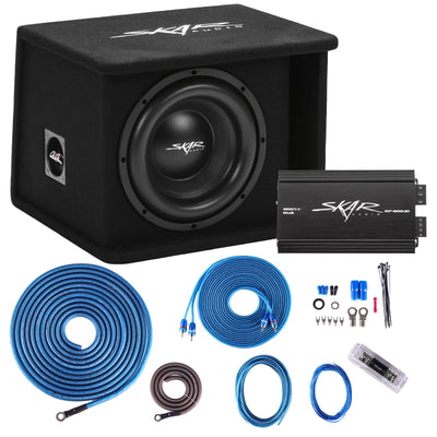 "Skar Audio Single 10"" SDR Series Complete Bass Package - Main Image"