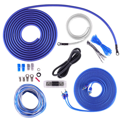 "Skar Audio Triple 8"" SDR Series 2100 Watt Complete Bass Package with Loaded Sub Box and Amplifier - Subwoofer View"
