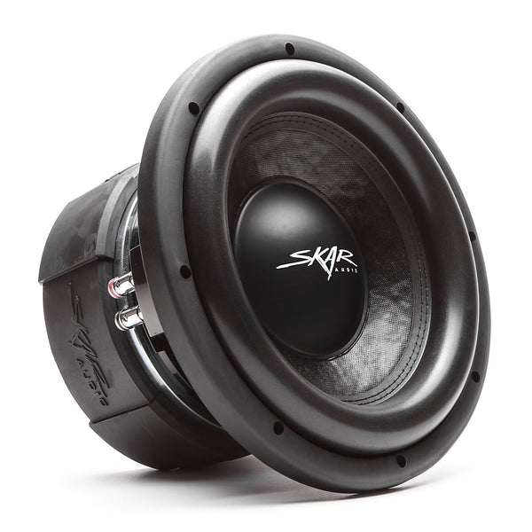 Skar Audio DDX-10 10-inch 1,500 Watt Max Power Car Subwoofer - Angle View