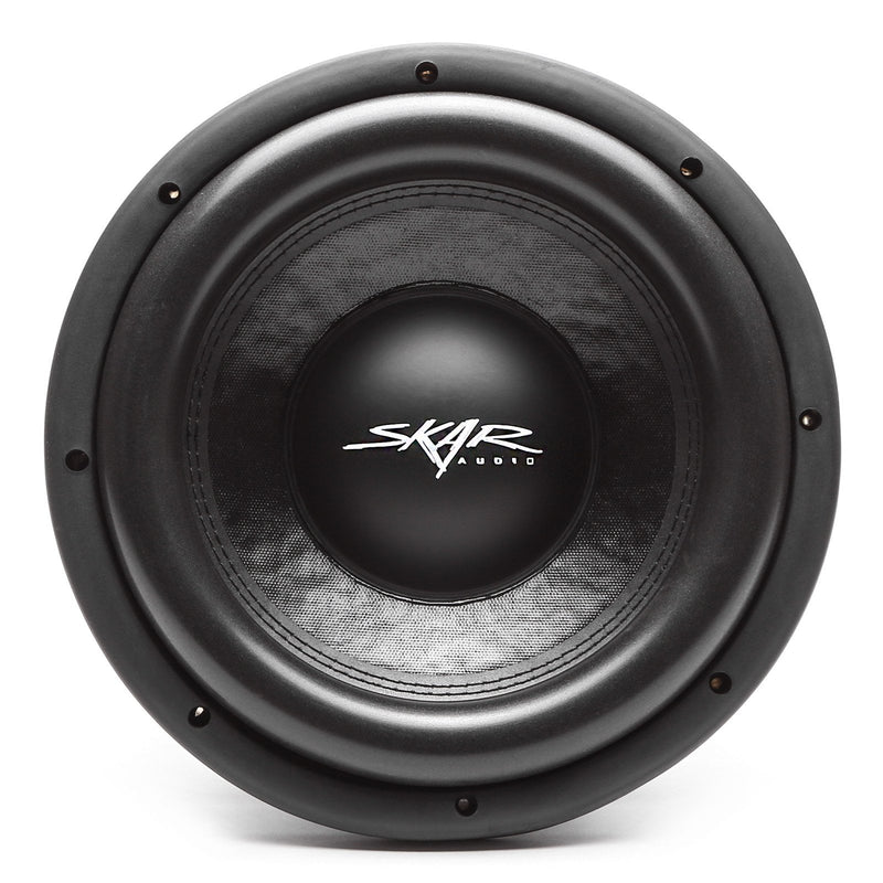 Skar Audio DDX-10 10-inch 1,500 Watt Max Power Car Subwoofer - Front View