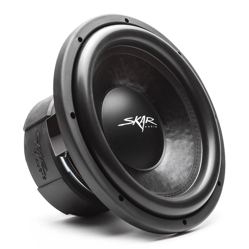 Skar Audio DDX-12 12-inch 1,500 Watt Max Power Car Subwoofer - Angle View