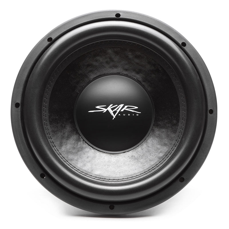 Skar Audio DDX-12 12-inch 1,500 Watt Max Power Car Subwoofer - Front View
