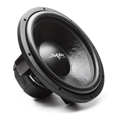 Skar Audio DDX-15 15-inch 1,500 Watt Max Power Car Subwoofer - Angle View