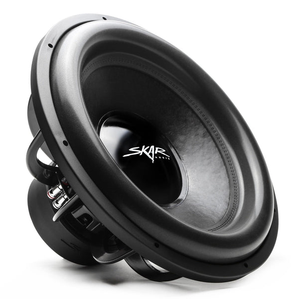Skar Audio EVL-18 18-inch 2,500 Watt Max Power Car Subwoofer - Angle View