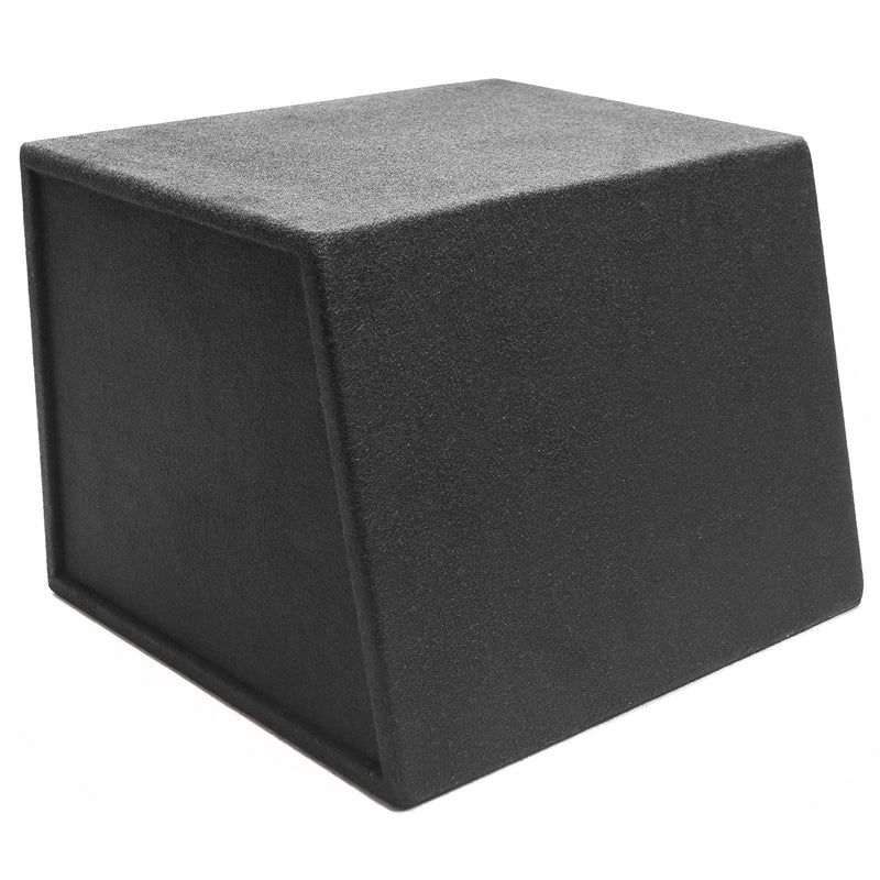 "Skar Audio EVL-1X12D2 Single 12"" EVL Loaded Vented Subwoofer Enclosure - Rear View"