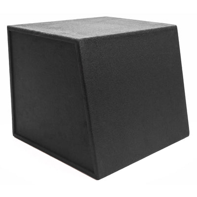 "Skar Audio EVL-1X15D2 Single 15"" EVL Loaded Vented Subwoofer Enclosure - Rear Angle View"