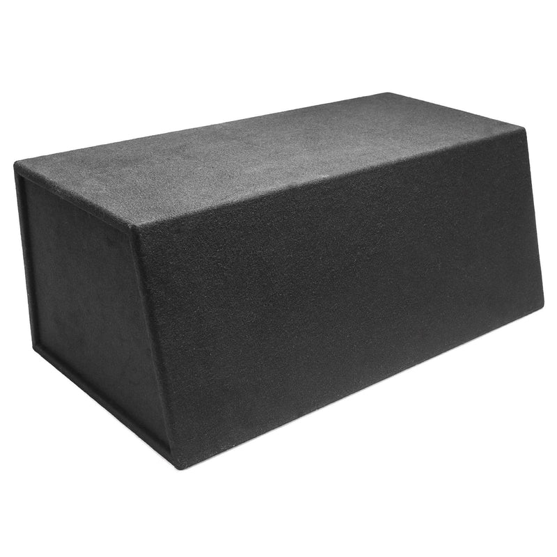 "Skar Audio EVL-2X10D4 Dual 10"" EVL Loaded Vented Subwoofer Enclosure - Rear View"
