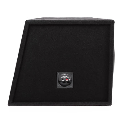 "Skar Audio EVL-2X12D4 Dual 12"" EVL Loaded Vented Subwoofer Enclosure - Side View"