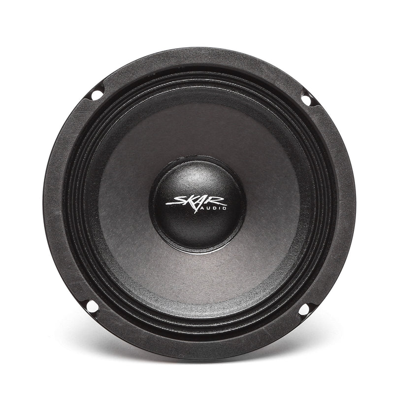 Skar Audio FSX65 6.5-inch 400 Watt Max Power Mid-Range Loudspeaker - Front View