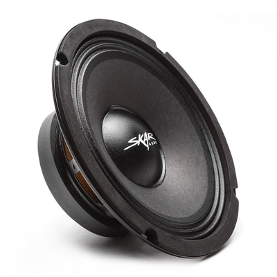 Skar Audio FSX8 8-inch 400 Watt Max Power Mid-Range Loudspeaker - Angle View