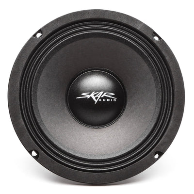 Skar Audio FSX8 8-inch 400 Watt Max Power Mid-Range Loudspeaker - Front View