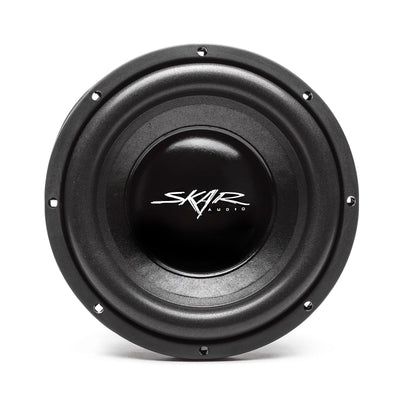 Skar Audio IX-10 10-inch 400 Watt Max Power Car Subwoofer - Front View
