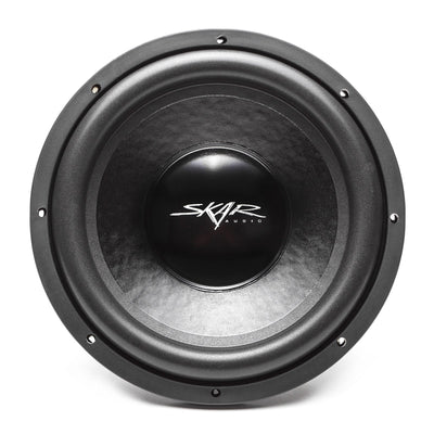 Skar Audio IX-12 12-inch 500 Watt Max Power Car Subwoofer - Front View