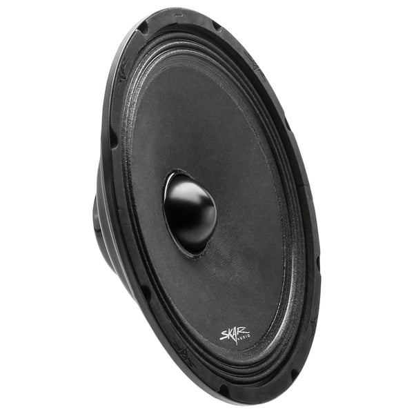 Skar Audio NPX10 10-inch Mid-Range Car Audio Loud Speaker with Neodymium Magnet - Angle View