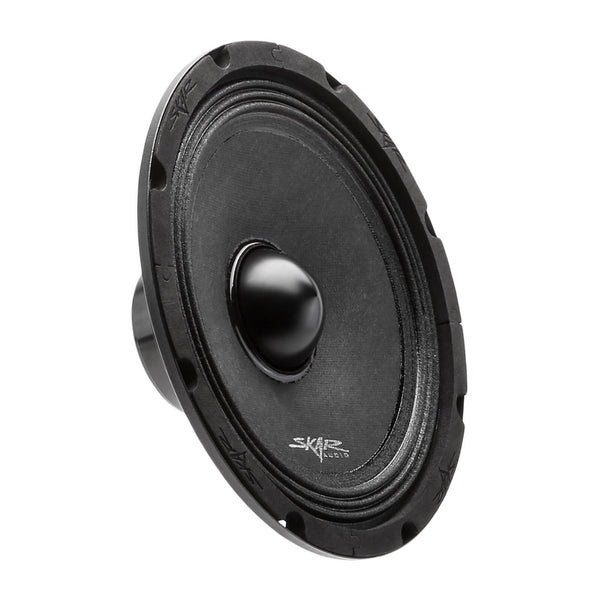 Skar Audio NPX8 8-inch Mid-Range Car Audio Loud Speaker with Neodymium Magnet - Angle View