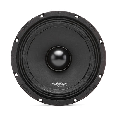 Skar Audio NPX8 8-inch Mid-Range Car Audio Loud Speaker with Neodymium Magnet - Front View