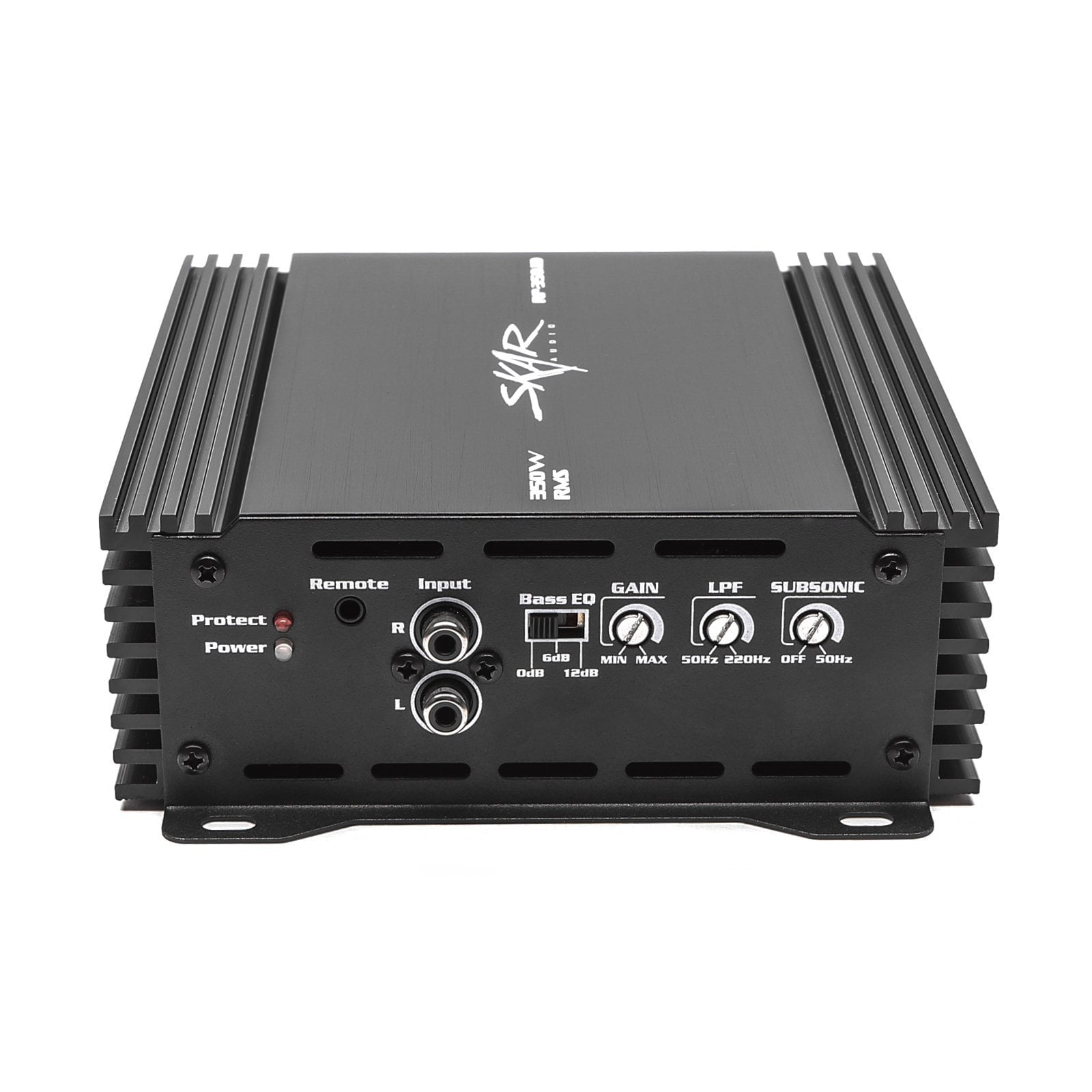 Skar Audio RP-1500.1D Monoblock Class D MOSFET Amplifier with Remote Subwoofer Level Control 1500W