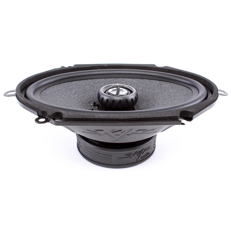 Skar Audio RPX68 6-inch x 8-inch 210 Watt Max Power Coaxial Car Speakers - Top View