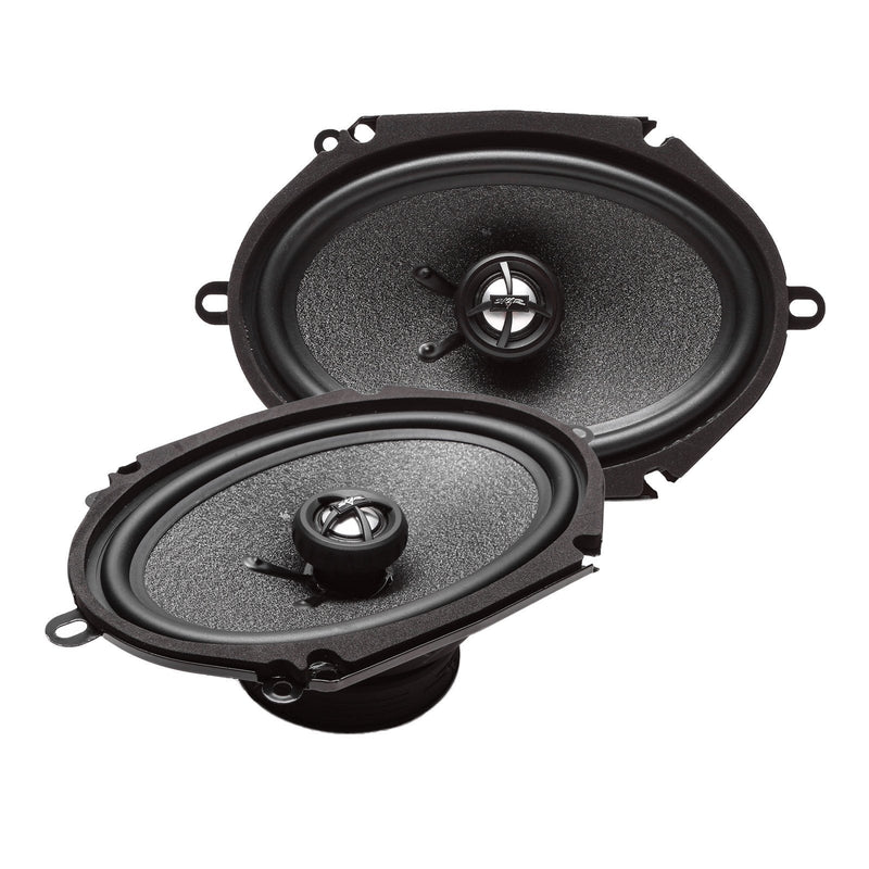 Skar Audio RPX68 6-inch x 8-inch 210 Watt Max Power Coaxial Car Speakers - Angle View