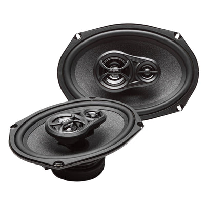 Skar Audio RPX69 6-inch x 9-inch 270 Watt Max Power Coaxial Car Speakers - Angle View