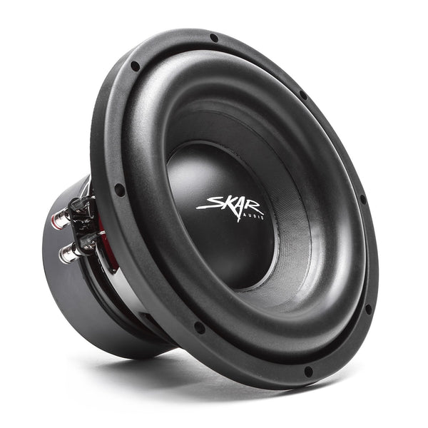 Skar Audio SDR-10 10-inch 1,200 Watt Max Power Car Subwoofer - Angle View
