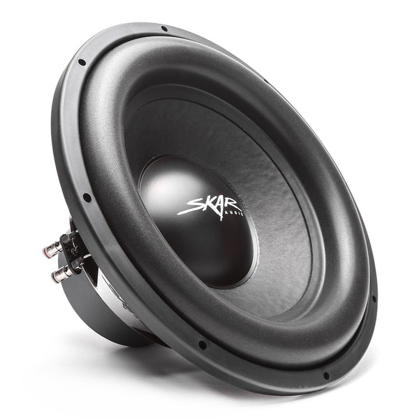 Skar Audio SDR-15 15-inch 1,200 Watt Max Power Car Subwoofer - Angle View