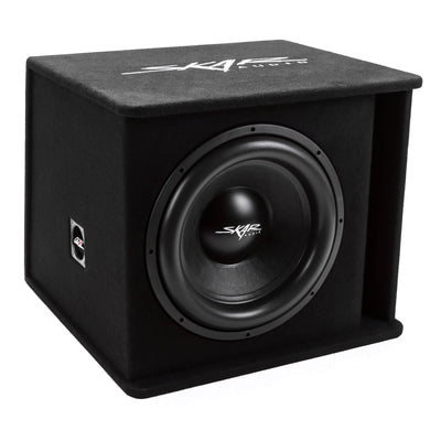 "Skar Audio SDR-1X15D2 Single 15"" SDR Loaded Vented Subwoofer Enclosure - Angle View"