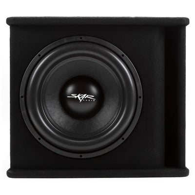 "Skar Audio SDR-1X15D2 Single 15"" SDR Loaded Vented Subwoofer Enclosure - Front View"