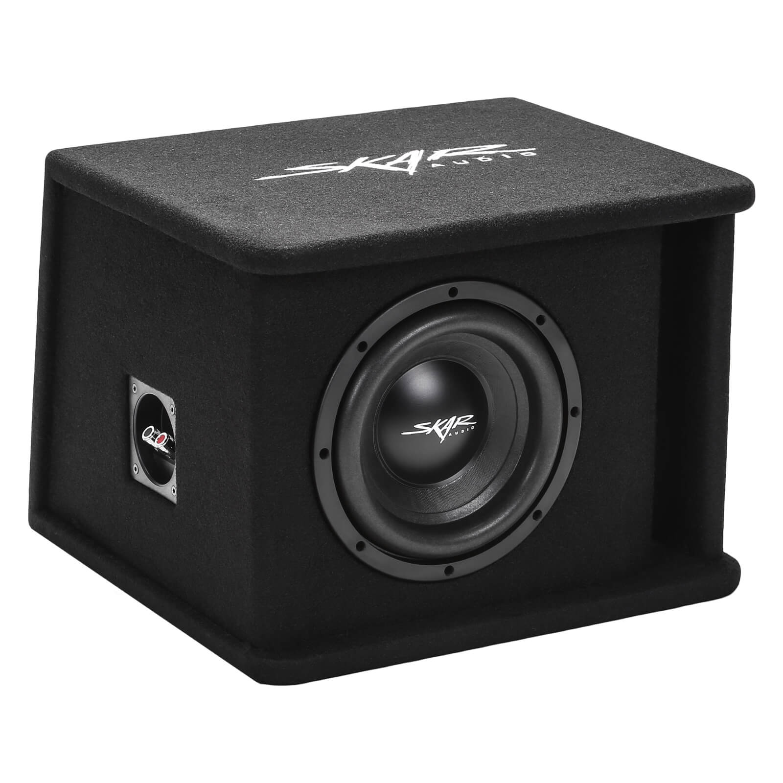 "Skar Audio SDR-1X8D2 Single 8"" SDR Loaded Vented Subwoofer Enclosure - Main View"
