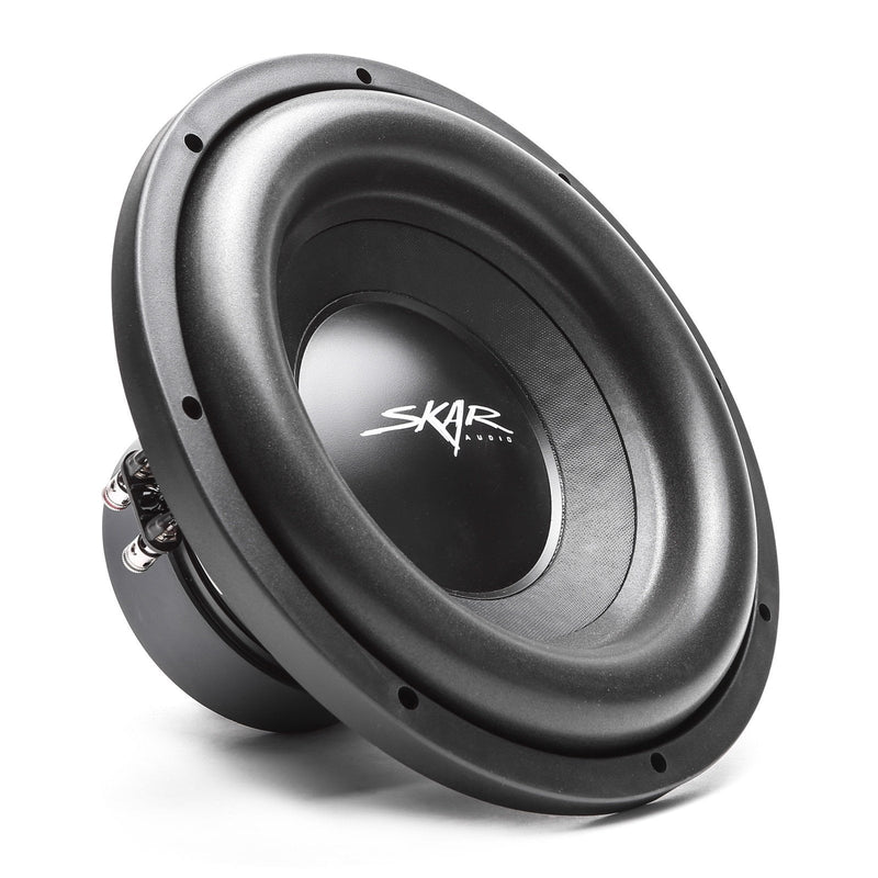 "Skar Audio Dual SDR 12"" 2400 Watt Loaded Sub Box and Amplifier - Subwoofer View"