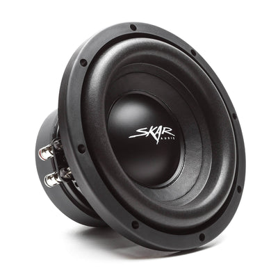 Skar Audio SDR-2X8D4 Dual 8-inch SDR Series Ported Loaded Subwoofer Enclosure - Subwoofer Image
