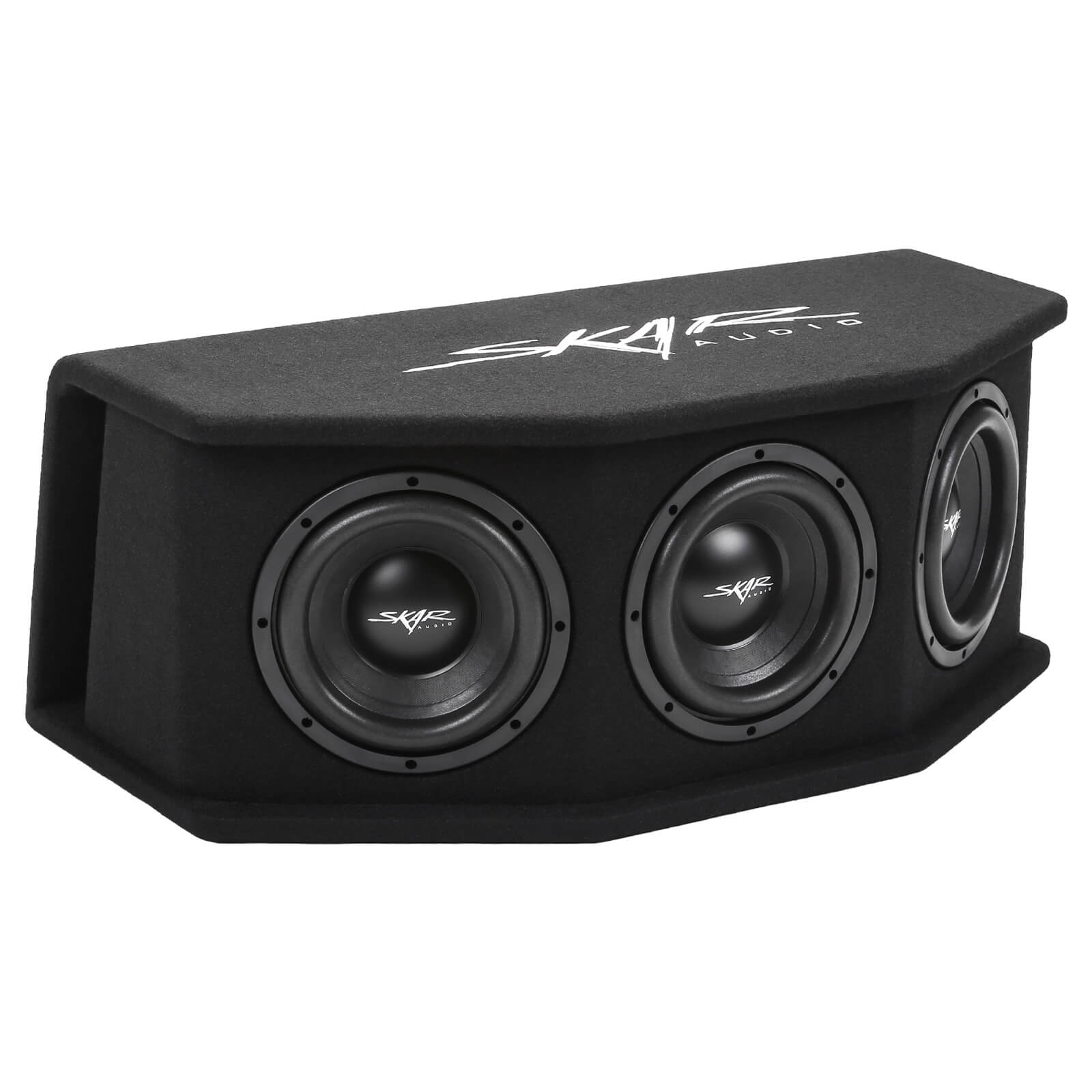 "Skar Audio SDR-3X8D2 - Triple 8"" 2,100 Watt Loaded SDR Series Vented Subwoofer Enclosure Main Image"