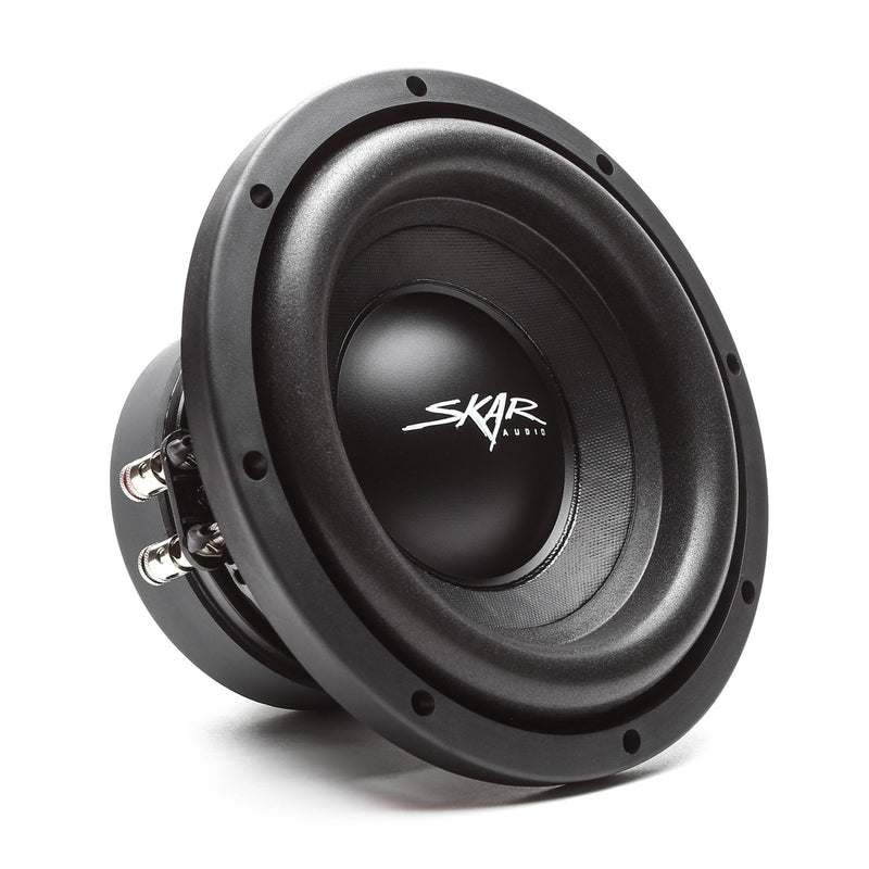 Skar Audio SDR-8 8-inch 700 Watt Max Power Car Subwoofer - Angle View