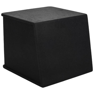 "Skar Audio SK1X15V Single 15"" Universal Fit Ported Subwoofer Enclosure - Rear View"