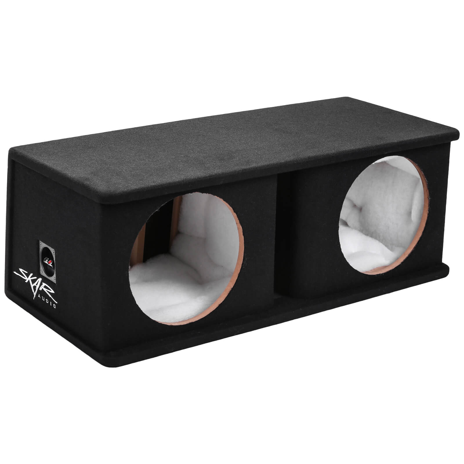 "Skar Audio SK2X12V Dual 12"" Universal Fit Ported Subwoofer Enclosure - Main View"