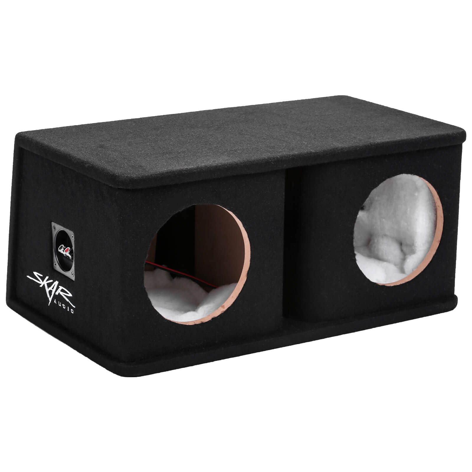 "Skar Audio SK2X8V Dual 8"" Universal Fit Ported Subwoofer Enclosure - Main View"