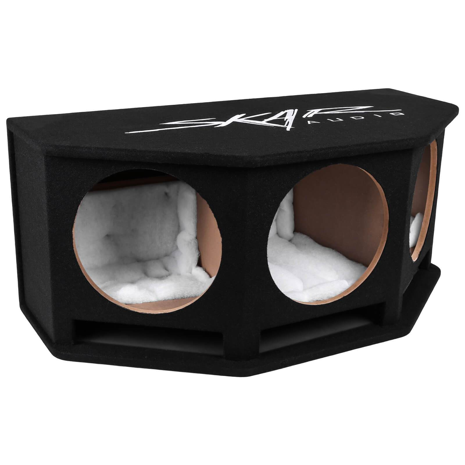 "Skar Audio SK3X12V Triple 12"" Ported Universal Fit Subwoofer Box - Main Image"