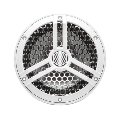 "Skar Audio SK65M 6.5"" 2-Way Marine Full Range 320 Watt Coaxial Speakers, Pair (White) - Front Image"