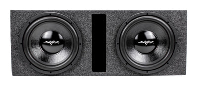 "Dual 12"" 1,000 Watt IX Series Loaded Vented Subwoofer Enclosure"