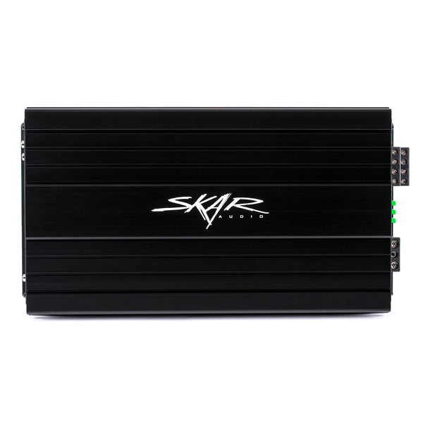 Skar Audio SKv2-100.4AB 800 Watt Class AB 4-Channel Car Amplifier - Front View