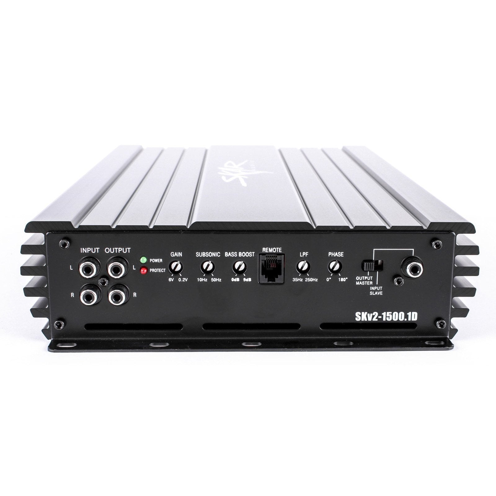 Skar Audio SKv2-1500.1D Monoblock Class D MOSFET Competition Grade Subwoofer Amplifier 2200W Max Power