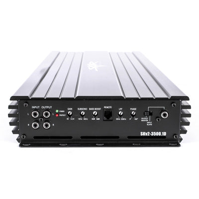 Skar Audio SKv2-3500.1D 3,500 Watt Class D Monoblock Car Amplifier - Controls View